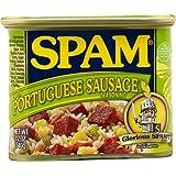 Spam Portuguese Sausage Flavor Hawaii Exclusive 12oz Can Hormel Foods