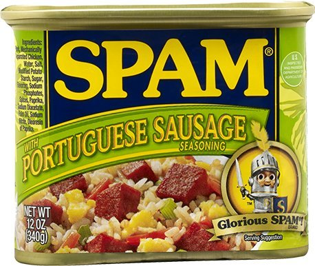Spam Portuguese Sausage Flavor Hawaii Exclusive 12oz Can Hormel Foods