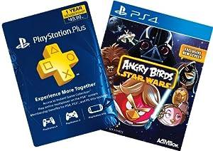Angry Birds Star Wars Digital Bundle: Game + 1-Year PS Plus - PS4 [Digital Code]