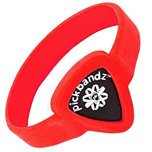 Pickbandz Bracelet Fire Orange Small - Guitar Pick Holder Bracelet