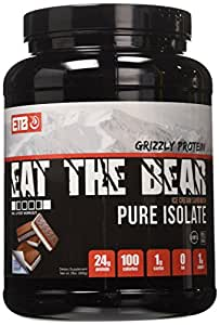 ETB Eat The Bear Pure Isolate Whey Protein, Ice Cream Sandwich, 2 Pound