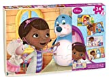 Doc McStuffins Wood Puzzle, 4 Pack Box