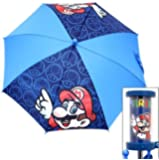 Licensed Super Mario & Mushroom Kid's Umbrella 20""