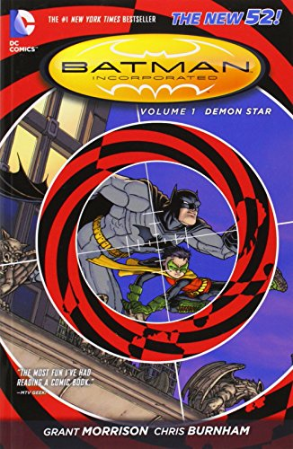 Batman Incorporated Volume 1: Demon Star TP (The New 52) by Chris Burnham (Artist) › Visit Amazon's Chris Burnham Page search results for this author Chris Burnham (Artist), Grant Morrison (10-Dec-2013) Paperback