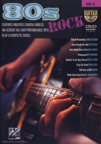 Cover art for  80s Rock - Guitar Play-Along DVD Vol. 9