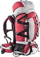 Skandika Snowdon 65 Sac à dos pour trekking/randonnée Rouge/Gris 65 L