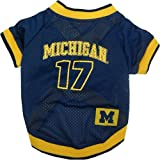 NCAA Dog Jersey, X-Small, University of Michigan Wolverines at Amazon.com