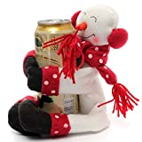 2pcs Christmas Snowman Santa Clau Wine Bottle Holder Table Drink Bottle Cover Decoration