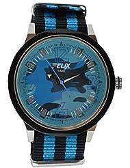 Maxus Felix Sep15_P40_A Analogue Blue Dial Men's Watch