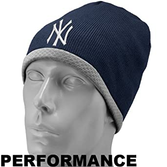 New Era New York Yankees AC Knit Cap (Navy)