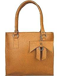 Taps Fashion Women's Handbag(Tan,SLN-1)