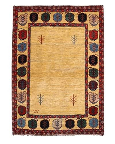 Solo Rugs Persian One-of-a-Kind Rug, Tan 3' 7 x 4' 10