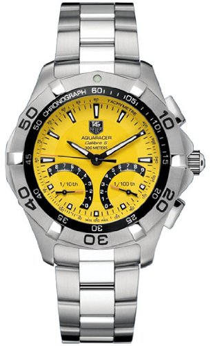 Tag Heuer Aquaracer Calibre S Chronograph Mens Watch CAF7013.BA0815