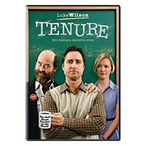 DVD cover for the movie 'Tenure', via Amazon width=