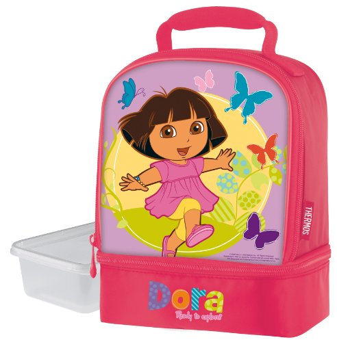 Thermos Dual Compartment Lunch Kit, Dora The Explorer