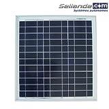 Panneau solaire polycristallin 15W 12V...