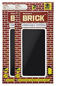 MOBSTAR BRICK Unbreakable and Reusable Screen Protector for Xiaomi Redmi 2 (Pack of 2)