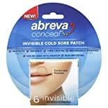 Abreva Bandages, Cold Sore, Invisible 6 bandages