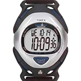 how to set interval timer on timex ironman watch