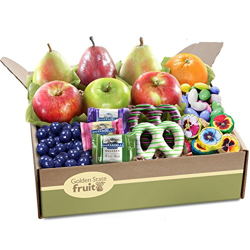 Fruit And Chocolate Gift Boxes : Golden state fruit springtime festival deluxe and