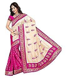 Pushkar Sarees Jacquard Saree (Pushkar Sarees_76_Multi-Coloured)