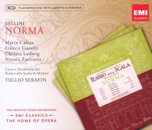 Norma (Callas-Corelli-T.Serafin) - Bellini - CD