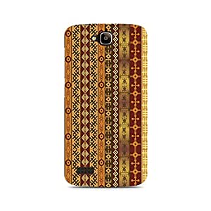 Mobicture Orange Tribal Strips Premium Printed Case For Huawei Honor Holly