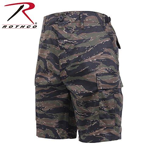 Rothco Camo BDU Shorts Tiger Stripe Camo - L Tiger Stripe Camouflage Shorts