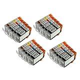 20 Pack (4LB/4SB/4C/4M/4Y) Non-OEM