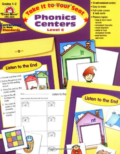 Phonics Centers Level C (Take It to Your Seat)