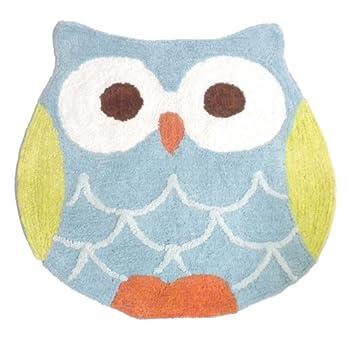 Saturday Knight Hooty Owl Bath Rug