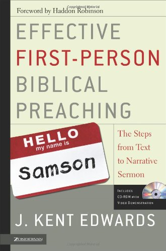 Best Price Effective First-Person Biblical Preaching The Steps from Text to Narrative Sermon310263093