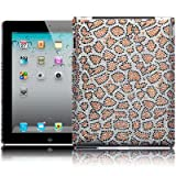 Apple iPad 3 Leopard Spots Design Diamante Case / Cover / Shell / Shield Part Of The Qubits Accessories Rangeby Qubits