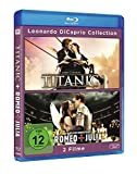 Image de Leonardo Di Caprio Collection - Titanic/Romeo & Julia [Blu-ray] [Import allemand]