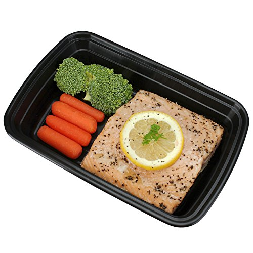 Freshware 15-Pack 1 Compartment Bento Lunch