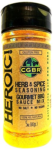 California Gold BBQ Rubs Heroic, 5 Ounce (Calorie Free Bbq Sauce compare prices)