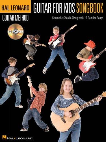 GUITAR FOR KIDS SONGBOOK - HAL LEONARD GUITAR METHOD (BOOK/CD)