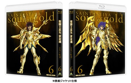 【Amazon.co.jp限定】聖闘士星矢 黄金魂 -soul of gold- 6 (オリジナル三方背ケース付) [Blu-ray]