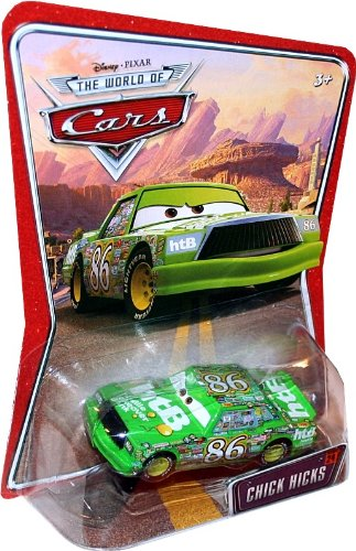 Buy Low Price Mattel CHICK HICKS #24 Disney / Pixar CARS 1:55 Scale THE WORLD OF CARS Die-Cast Vehicle Figure (B003DWWV5O)