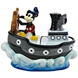 Westland Giftware Steamboat Willie Ceramic Cookie Jar, 8.25-Inch