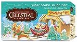 Celestial Seasonings Tea Sugar Cookie Sleigh Ride, 20-count (Pack of6)