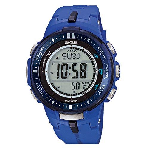 Casio Pro Trek Tough Solar PRW-3000-2BER Atomic watch for men Altimeter, Barometer, Thermometer, Compass