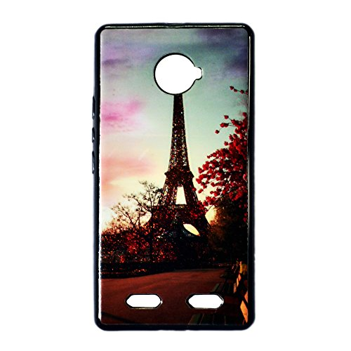 VAV New Sparkle Printed Soft Back Case Cover For Micromax Yunique Yu 4711
