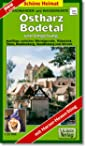 Radwander- und Wanderkarte Ostharz, B...
