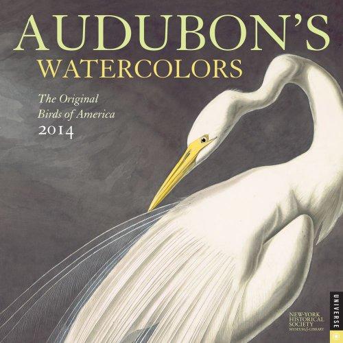 Audobon's Watercolors 2014 Wall Calendar: The Original Birds of America
