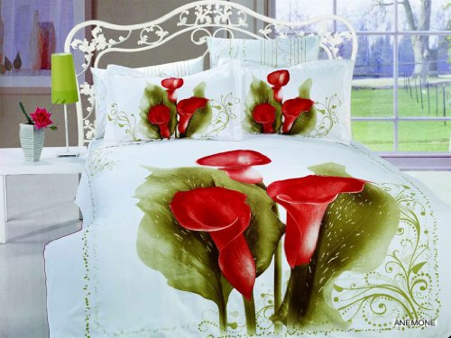 Best Quality Arya Anemone Duvet Cover Bed in