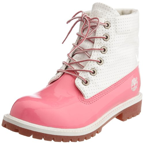 Timberland Junior Rolltop Flavor Pink/White/Rose Boot 29749 1.5 UK