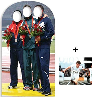 *OLYMPIC PACK* Olympic Photo Stand-in Lifesize Cardboard Cutout / Standee / Standup - INCLUDES 8X10 (25X20CM) STAR PHOTO - FAN PACK