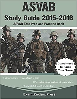 Best ASVAB Study Guides 2018-2019 (Approved ASVAB Books)