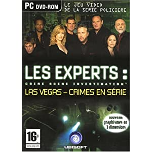LES EXPERTS : CRIME SCENE INVESTIGATION LAS VEGAS - CRIME EN SERIE  [PC- FR] [Multi]